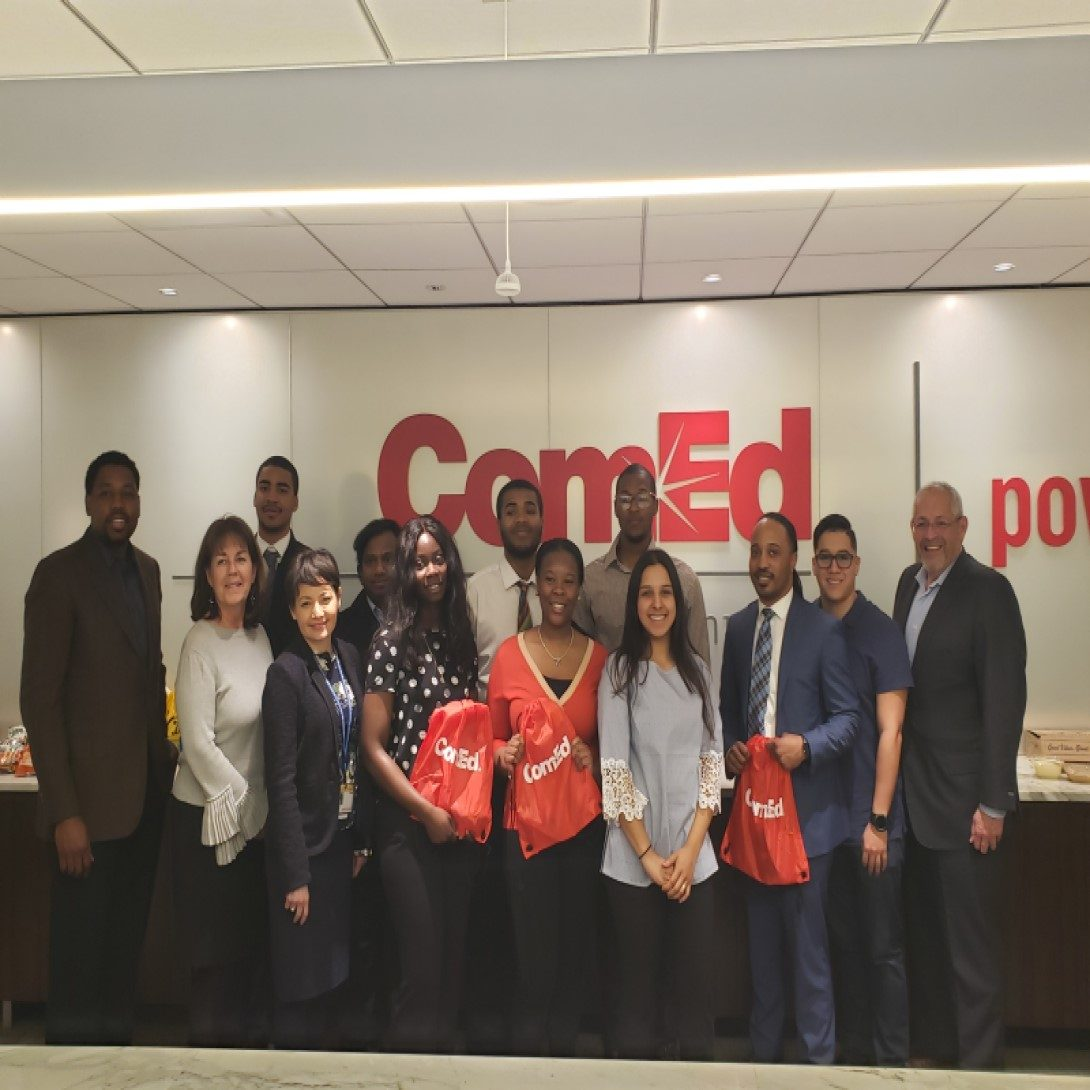 CHANCE Students and Director Parker (Luncheon with ComEd Executives)